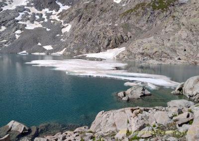 Lac du Tourrat et le Pic Long