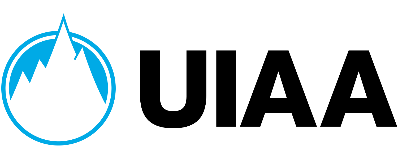 Le logo de l'Union Internationale des Associations d'Alpinisme.